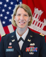 Lieutenant Colonel Jennifer A. Reynolds Portrait