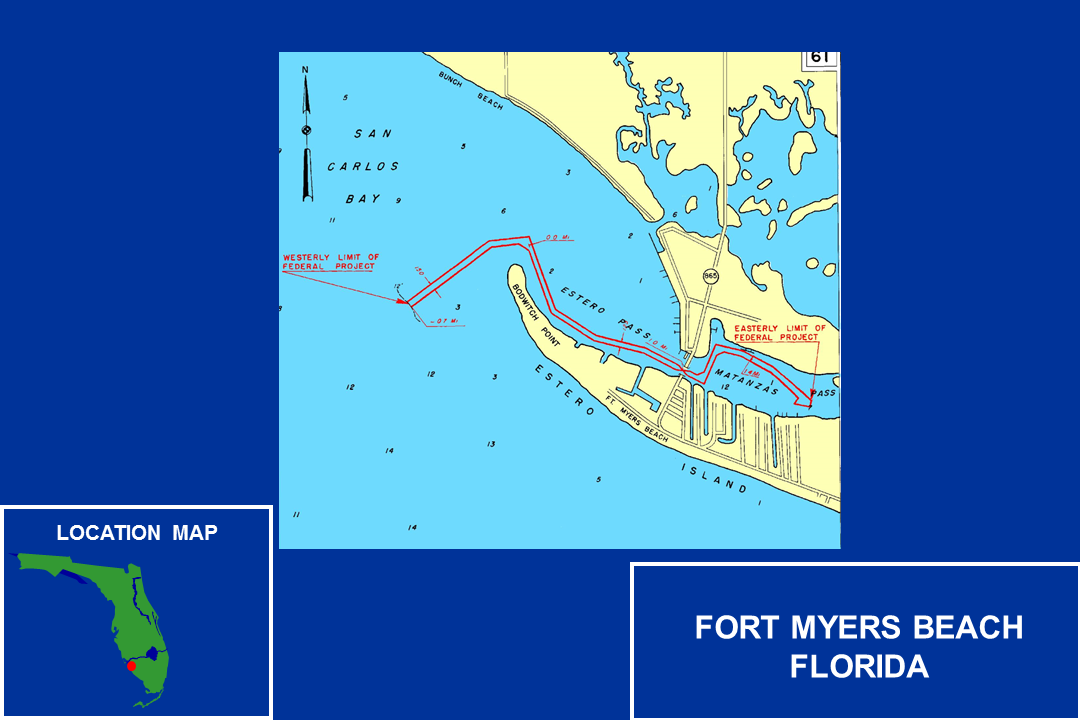 Fort Myers Beach Operations and Maintenance Map