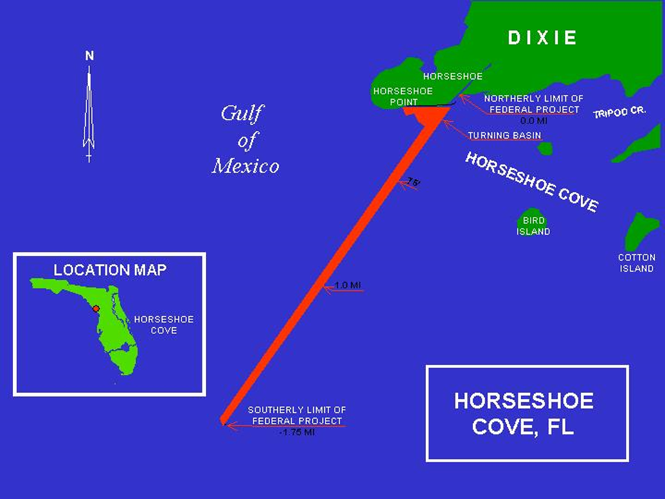 Horseshoe Cove Operations and Maintenance project map