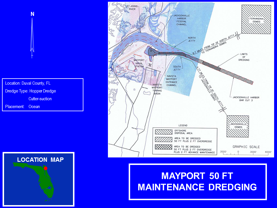 Mayport Navy Operations and Maintenance 50 Foot project map