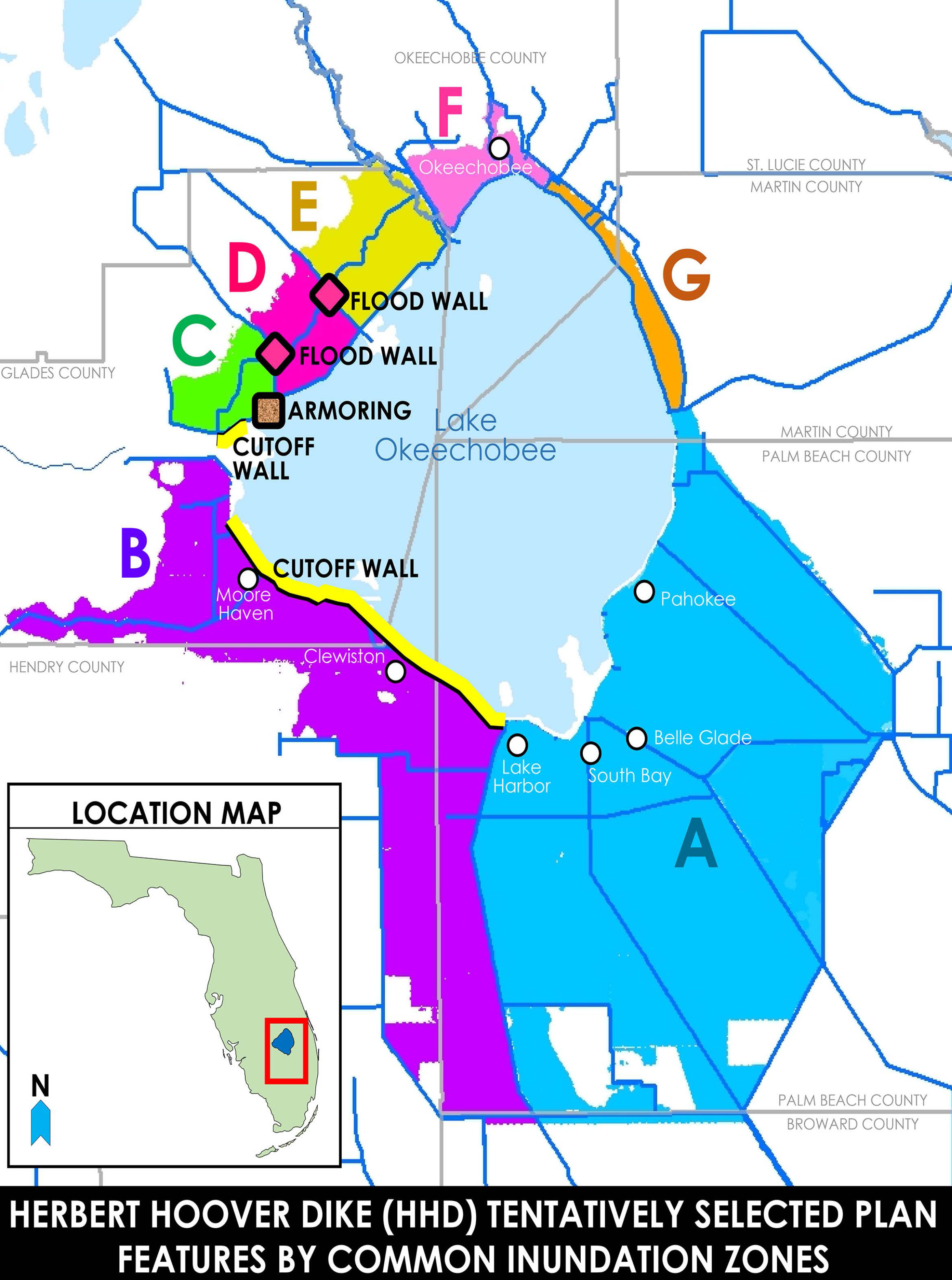 Jacksonville District Missions Civil Works Lake Okeechobee