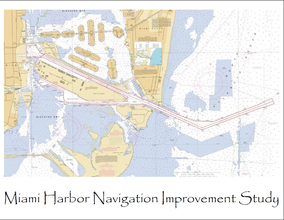 Miami Harbor Improvement Study Comment Sheet Map