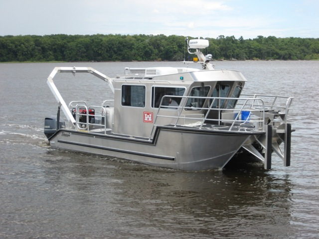 survey boat 46